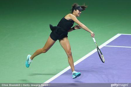 Fashion at the BNP Paribas WTA Finals in Singapore – Adidas