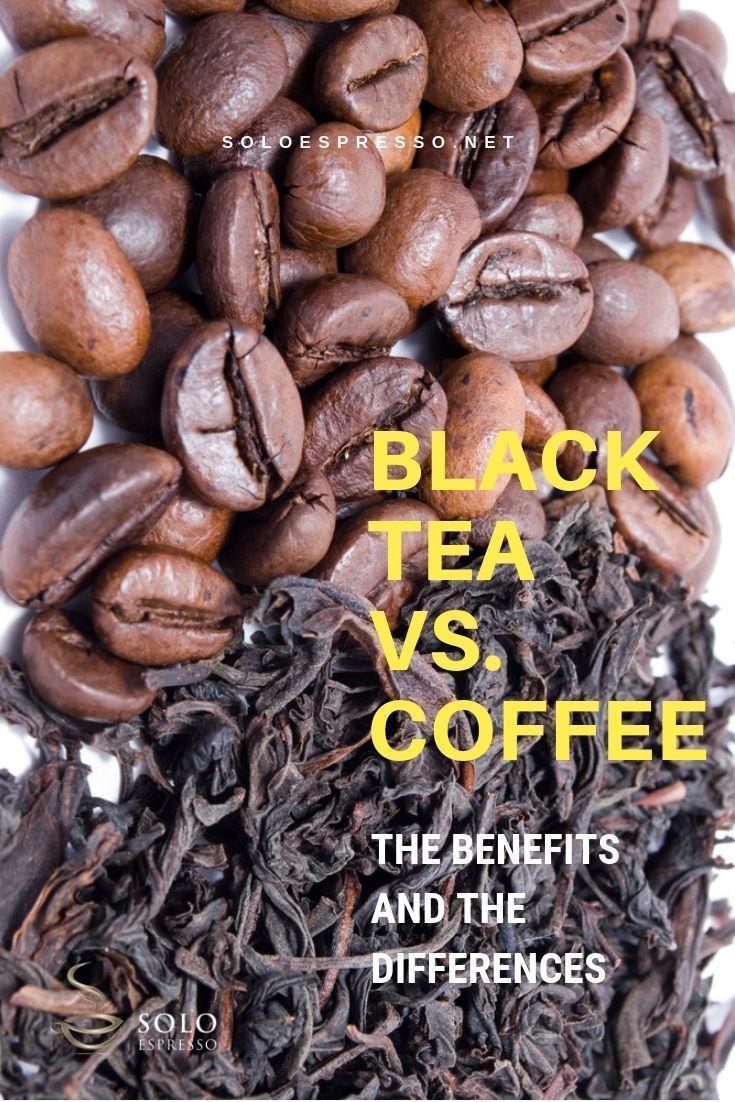 More Than Caffeine Black Tea vs. Coffee and Their