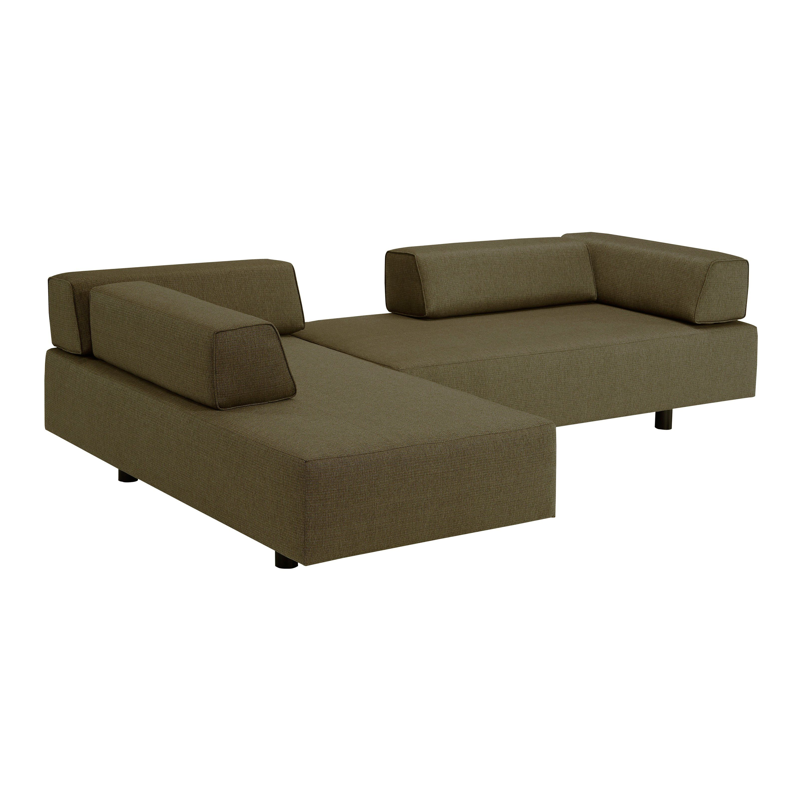 Lazar Calabasas Upholstered Sofa with Movable Bolster Back