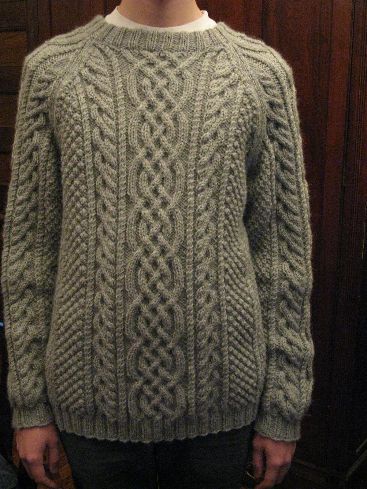 Ravelry: Design D - Unisex Aran Sweater by Sirdar | Men ...
