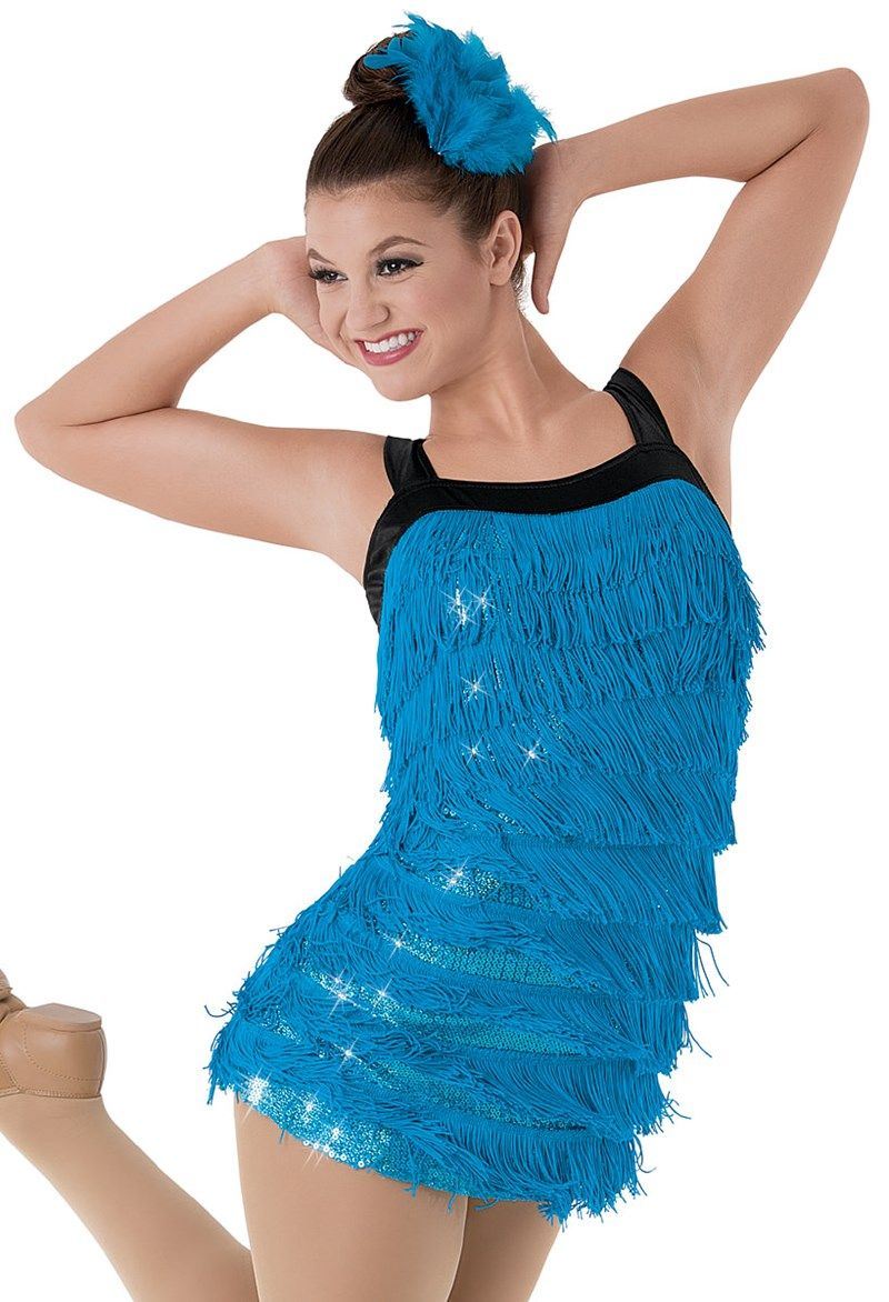 Weissman™ | Sequin Fringe Flapper Dress | Costumes - Tap and Jazz ...