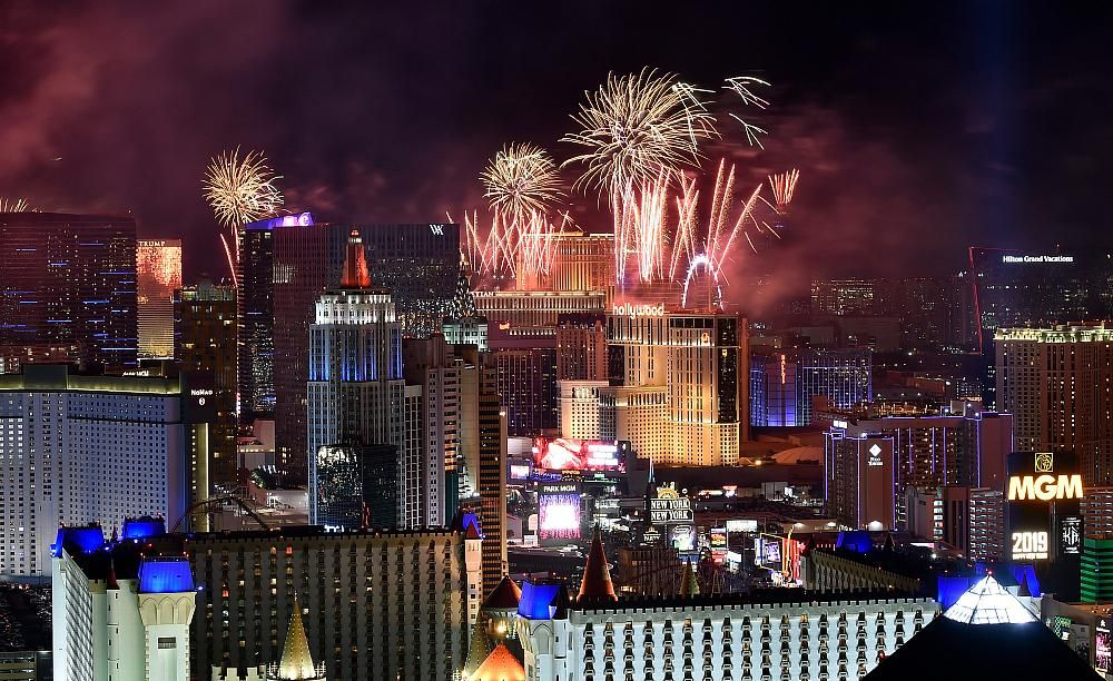 Las Vegas Raises a Glass to 2020 with Glamorous New Year's