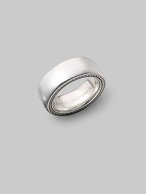 Beau David Yurman Streamline Silver Ring. Mens Silver RingsMens Silver Wedding  ...