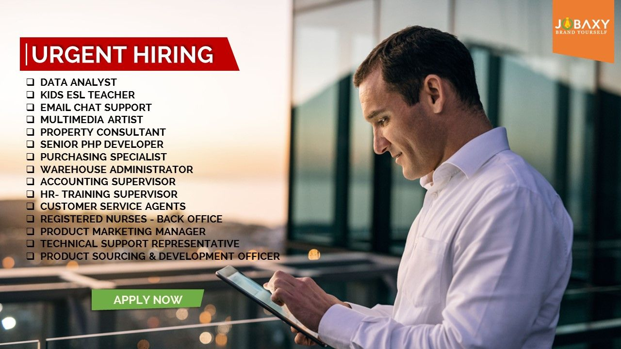Apply online with find the latest job
