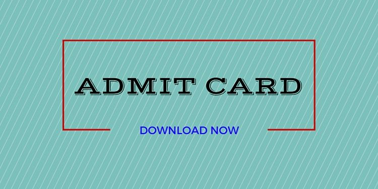 Pin On Admit Cards Download