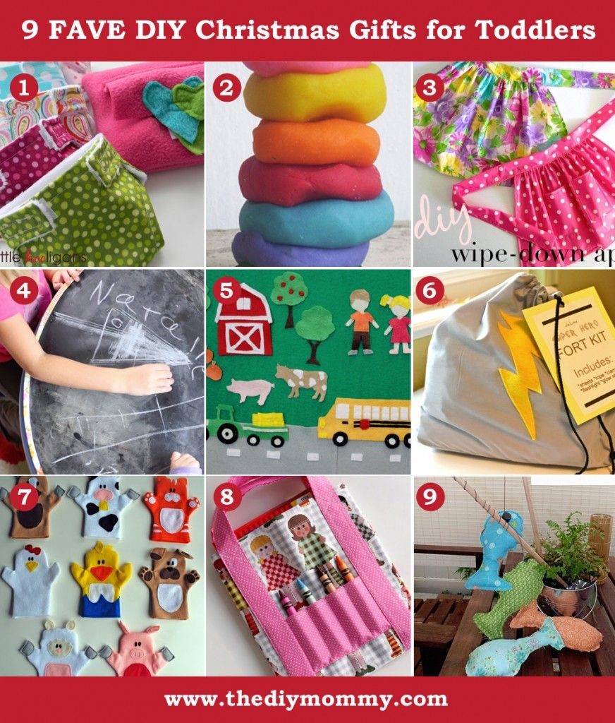 A Handmade Christmas DIY Toddler Gift Ideas By The Mommy Play Dough
