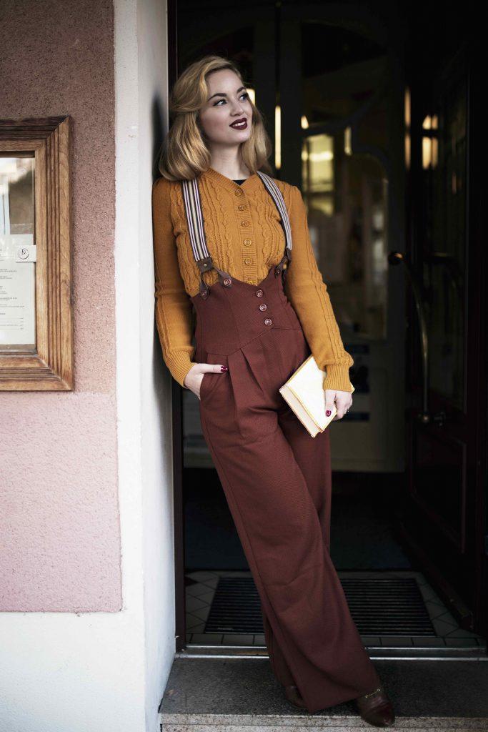 Mut zur Farbe Ι Romantischer Kaffeehaus Besuch mit Emmy Design Mode