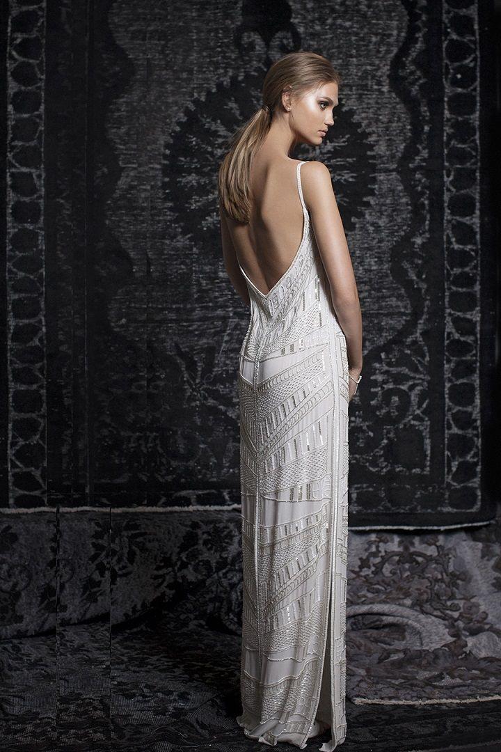 Bohemian Gypsy Wedding Dresses | Bohemian wedding gown, mermaid wedding gown, deep v neckline wedding gown
