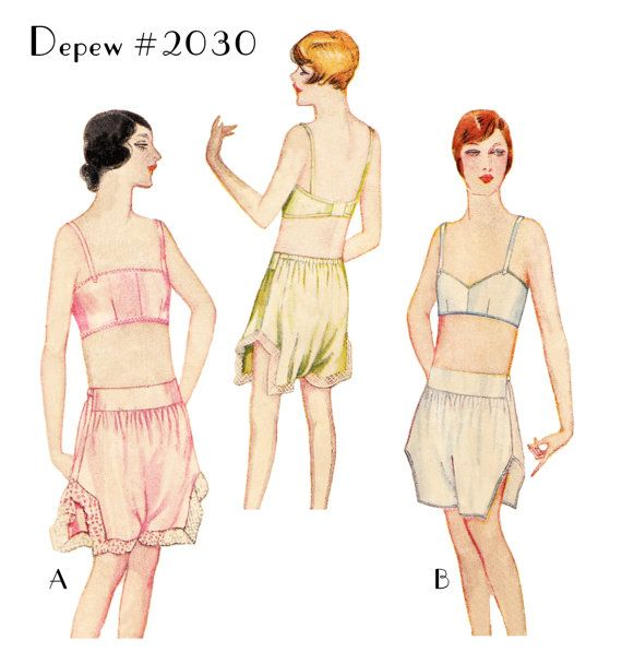 1920s Style Underwear, Lingerie, Nightgowns, Pajamas | Fashion ...