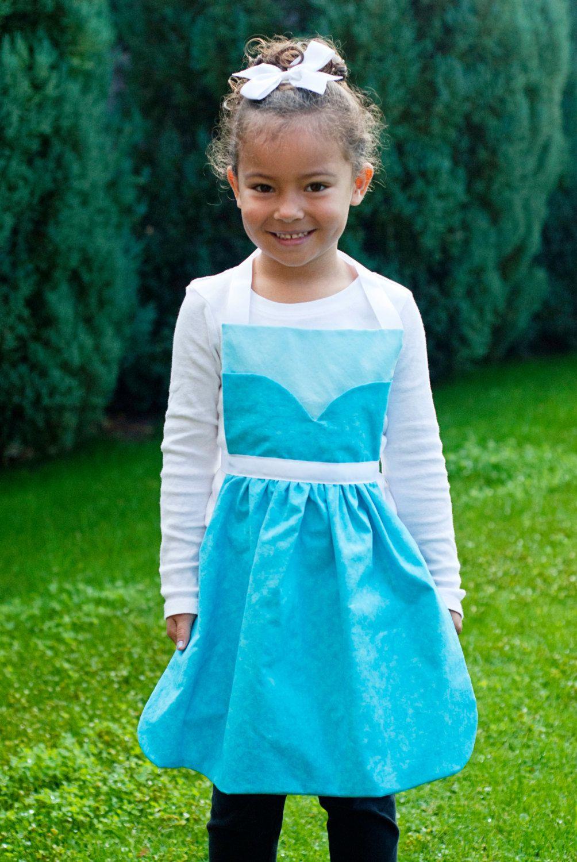 Disney's Frozen princess Anna and Elsa dress by SimplyRoyalDress, $50.00
