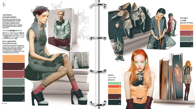 PROMOSTYL - Color Trendbook - Fashion exe. include mood ...