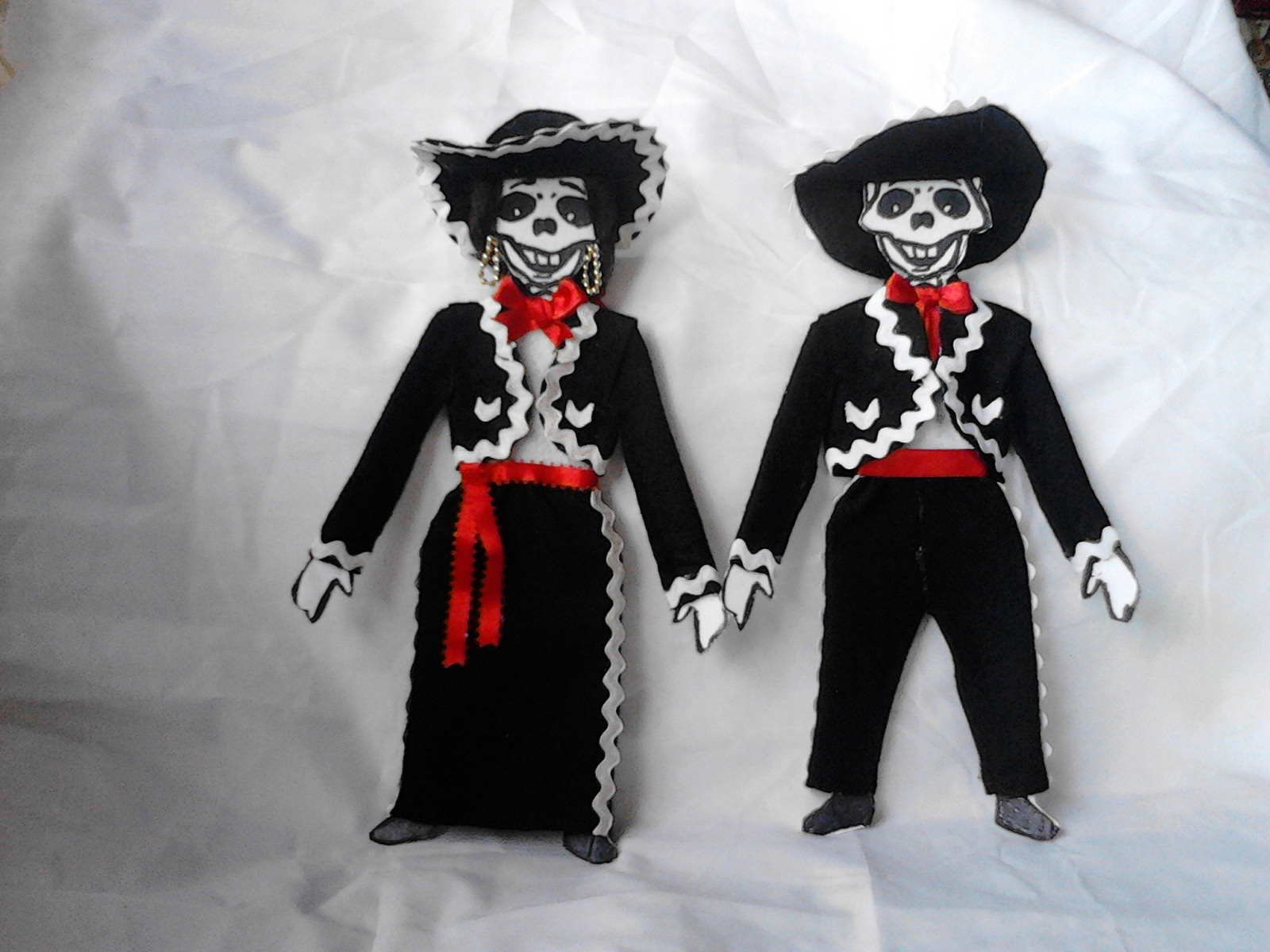 Como Vestir Esqueleto De Papel Mariachi Vestidos De