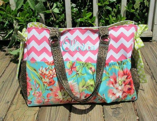 L Custom Made Boutique Diaper Bag You Pick Fabric Whistlebritchesboutique Bags Purses On Artfire