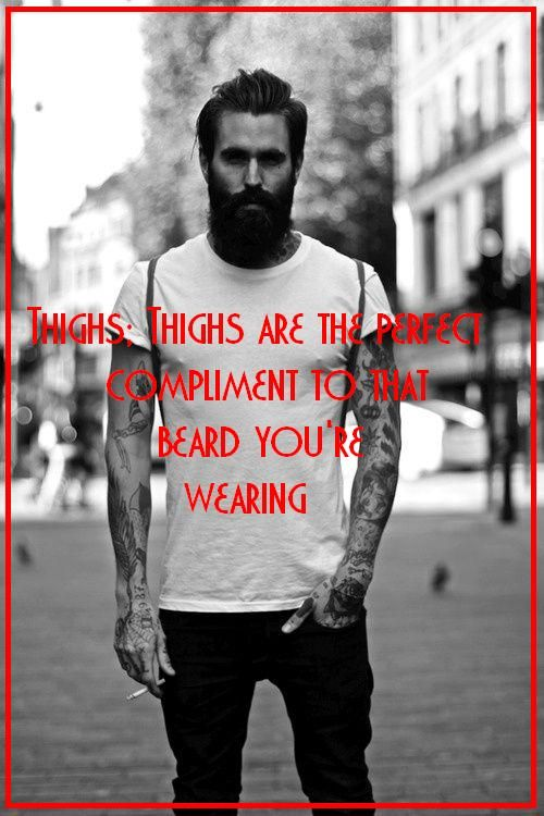 beard awesome , beard humor , manly man , scruff facial hair .. bearded , writer , pen , paper, philosopher beard, thighs.