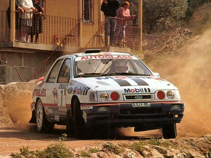 Erik S Ford Sierra Sapphire Cosworth 4x4 Rally Car Ford Sierra