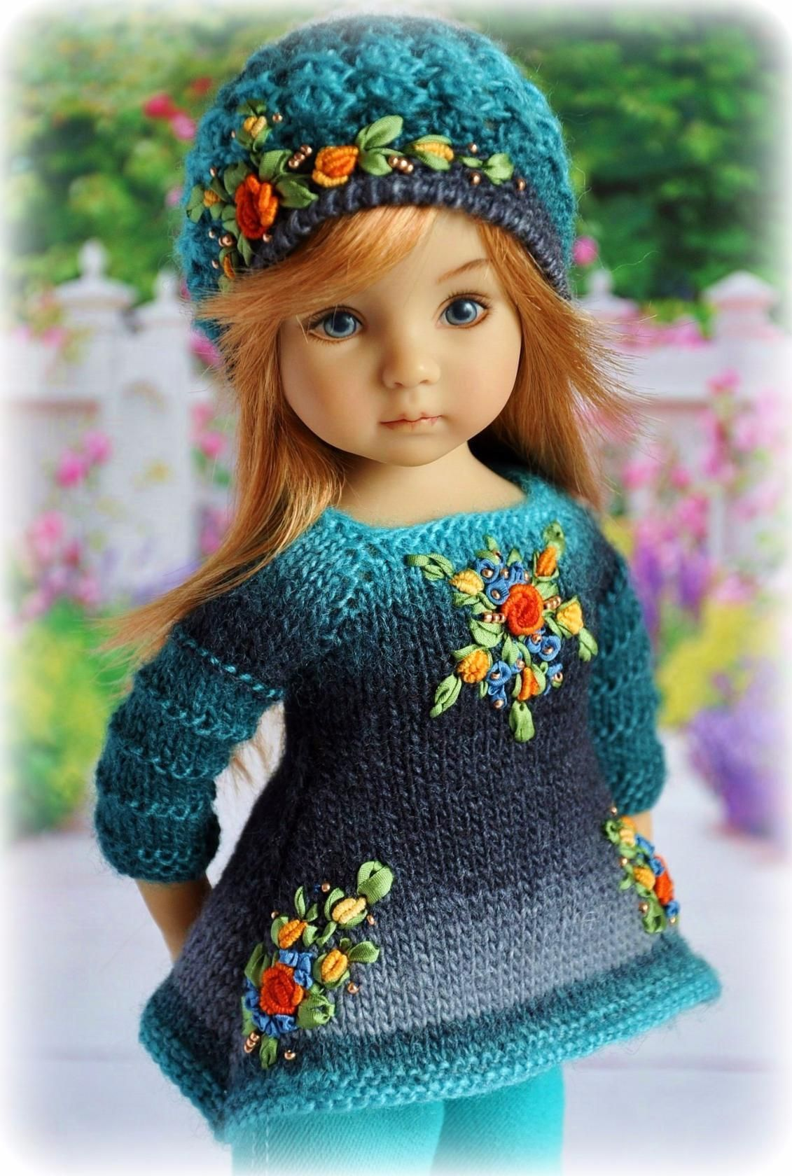 Pin von Rara Avis auf BabyKnit | Pinterest | Puppenkleidung, Puppen ...