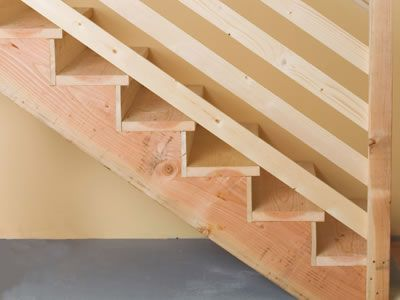 Great How To Build Simple Stairs. Basement RepairBasement ...