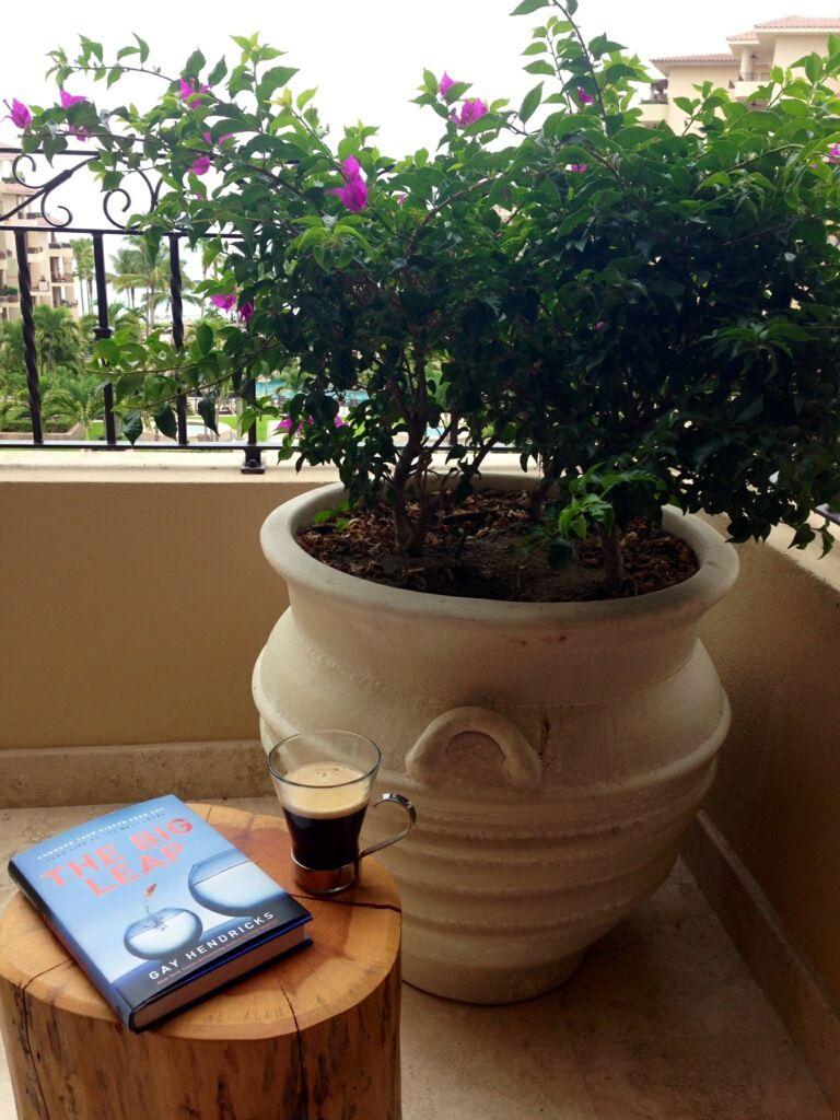 Morning meditation = java and a good read.