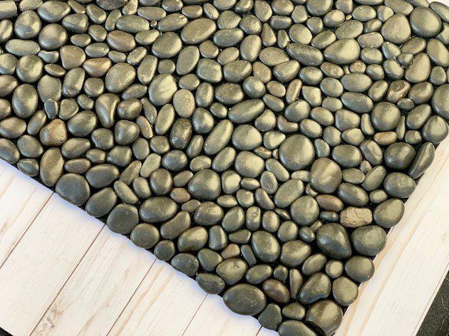 DIY River Rock Welcome Doormat | eHow.com