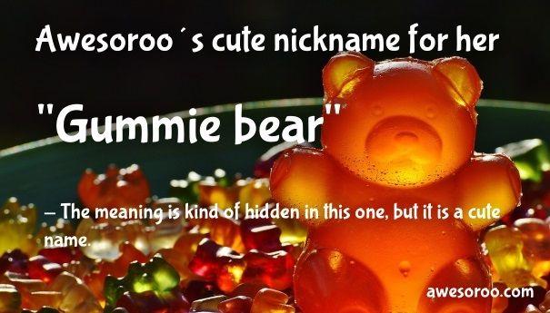 Bear nicknames