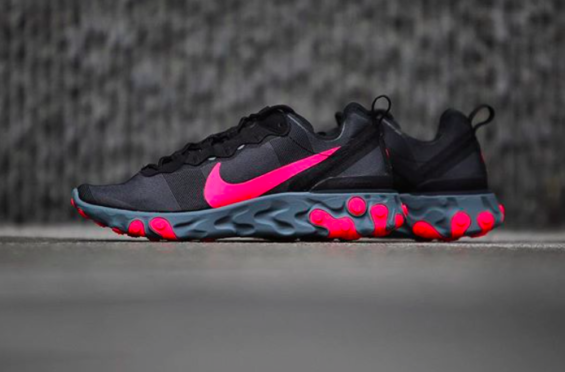 new arrival 718d9 0be5f How Do You Like The Nike React Element 55 Solar Red
