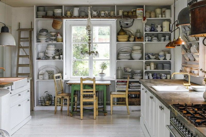 Hooked On Houses A Fun Place To Get Your House Fix Trendy Farmhouse Kitchen Kitchen Design Decor Vintage Kitchen