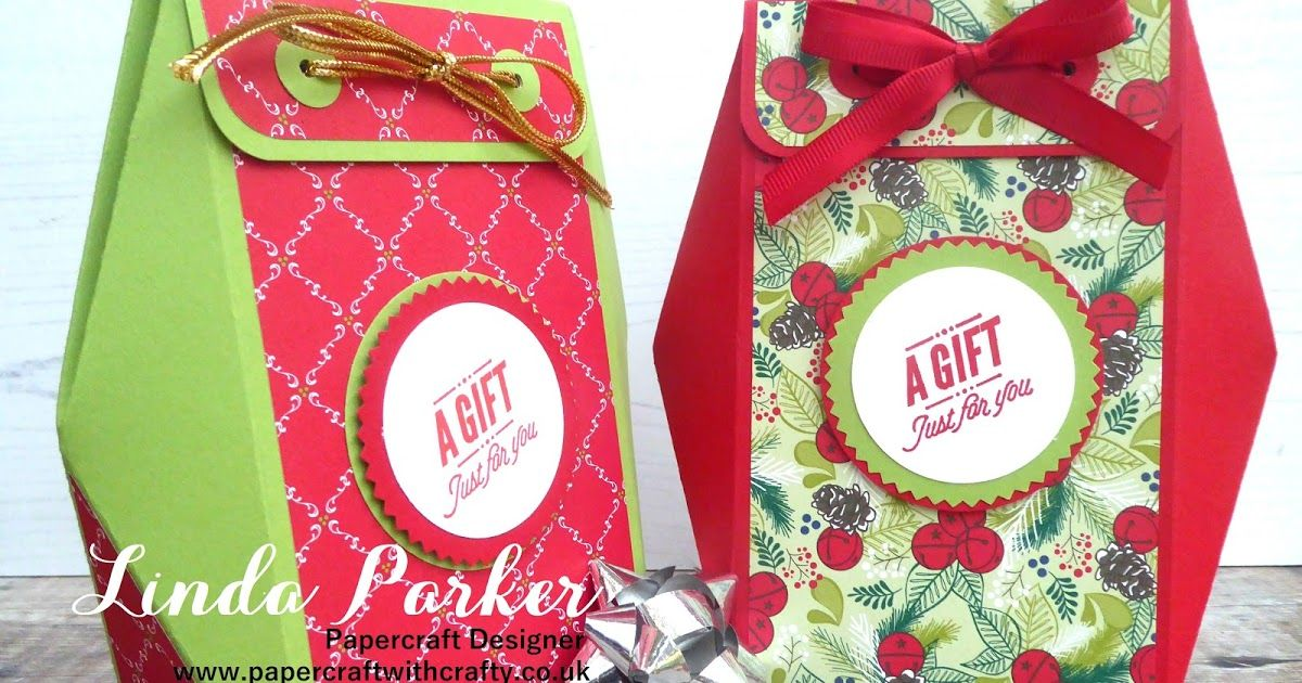 Countdown to Christmas Project No 9 Gift Box with