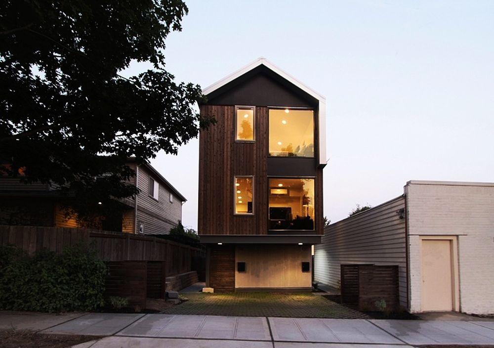 Deskripsi rumah urban dan contohcontoh desain denah rumah