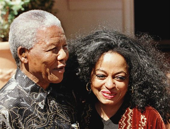 Nelson Mandela And Diana Ross Sales And Marketing Jobs People Nelson Mandela