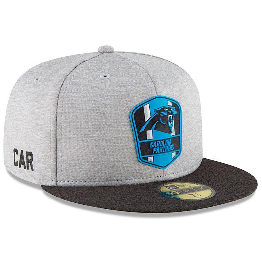 buy online d86c6 b852d New Era Boys  Carolina Panthers Official Sideline Road Fitted Cap Men -  Sports Fan Shop By Lids - Macy s