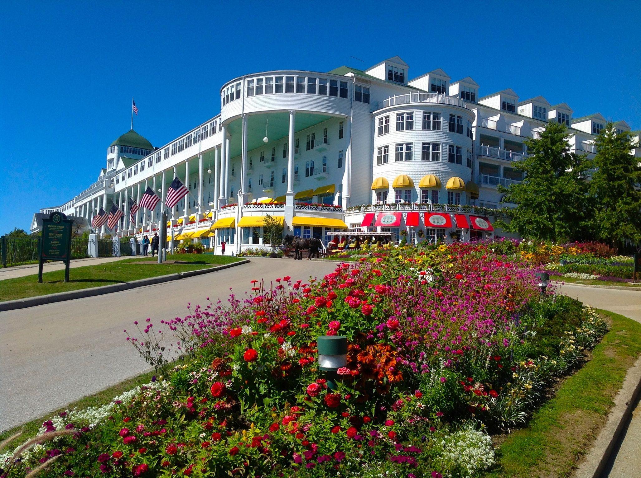 Grand Hotel Mackinac Island. Visited