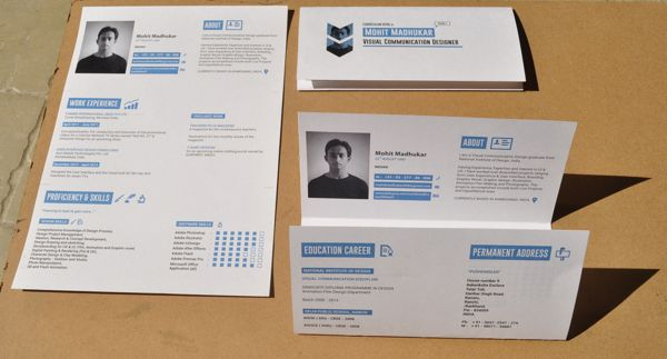 super creative folding idea for a resume to stand out  resume design  resume style  creative