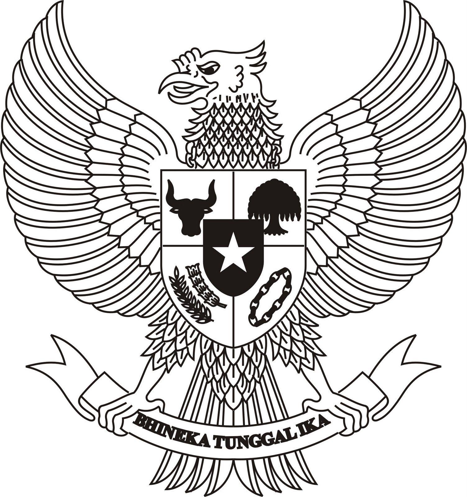 Burung Garuda Indonesia Khas Indonesia Dengan Pancasilanya