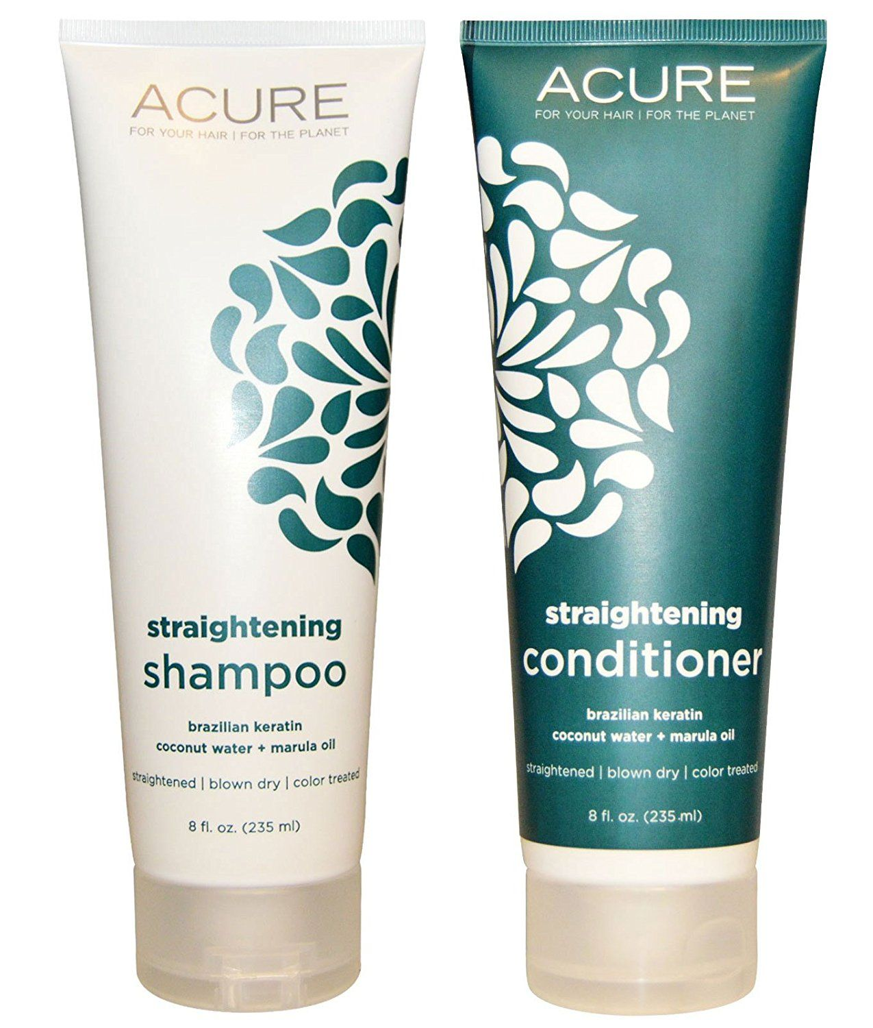 Acure Organics Coconut Hair Straightening All Natural
