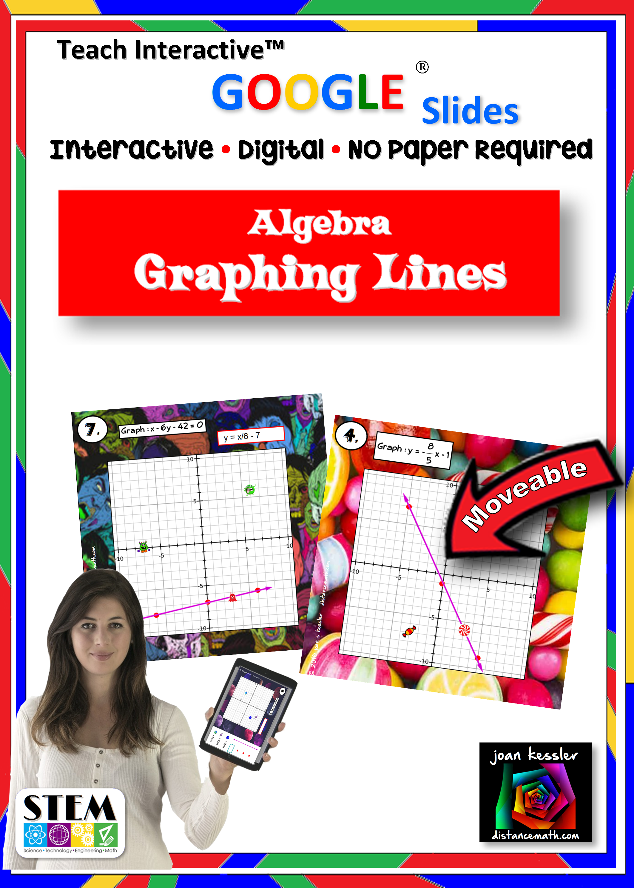 Algebra Graphing Linear Equations With Slides