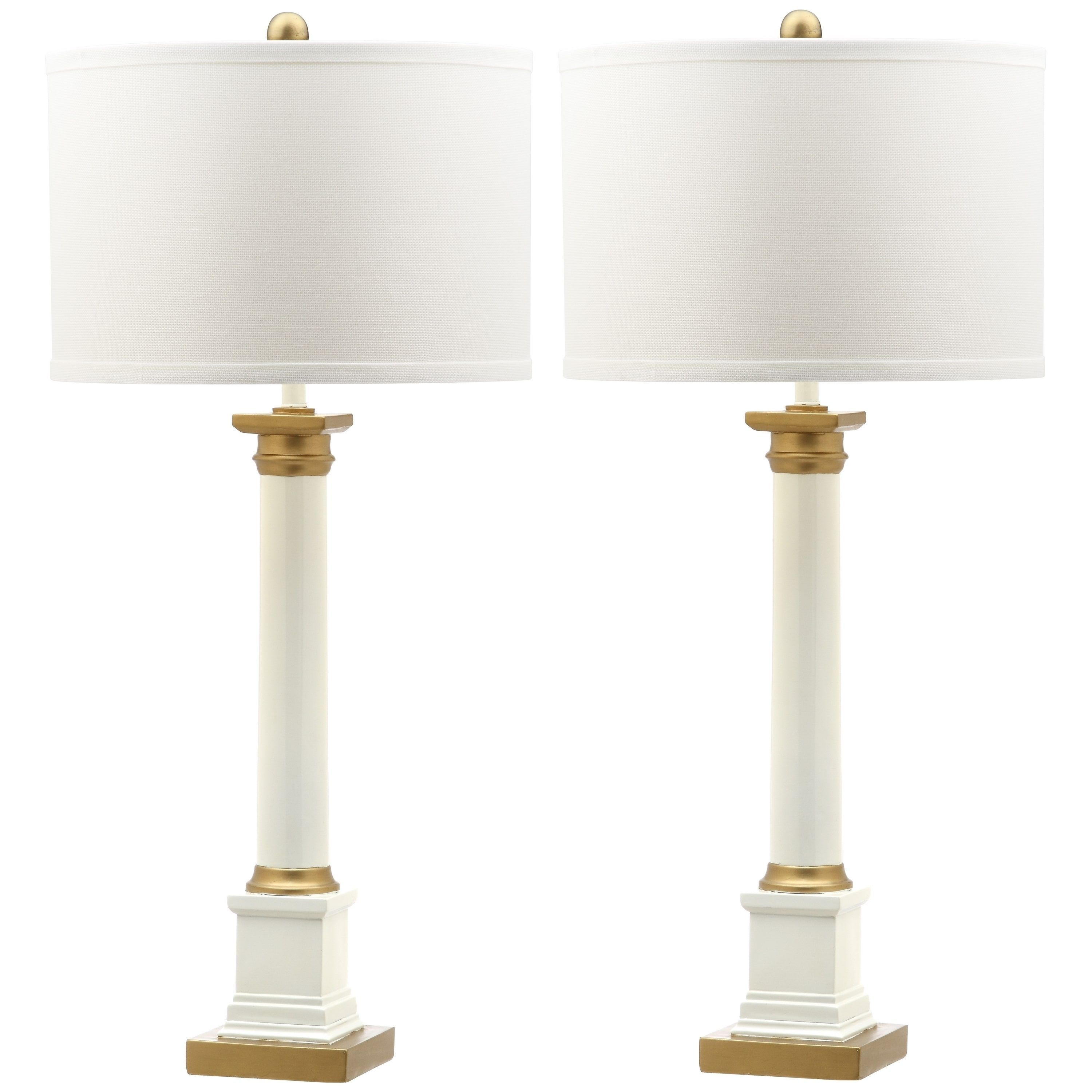 and brighten beautiful lamp free home lamps gold with white your shipping table pin