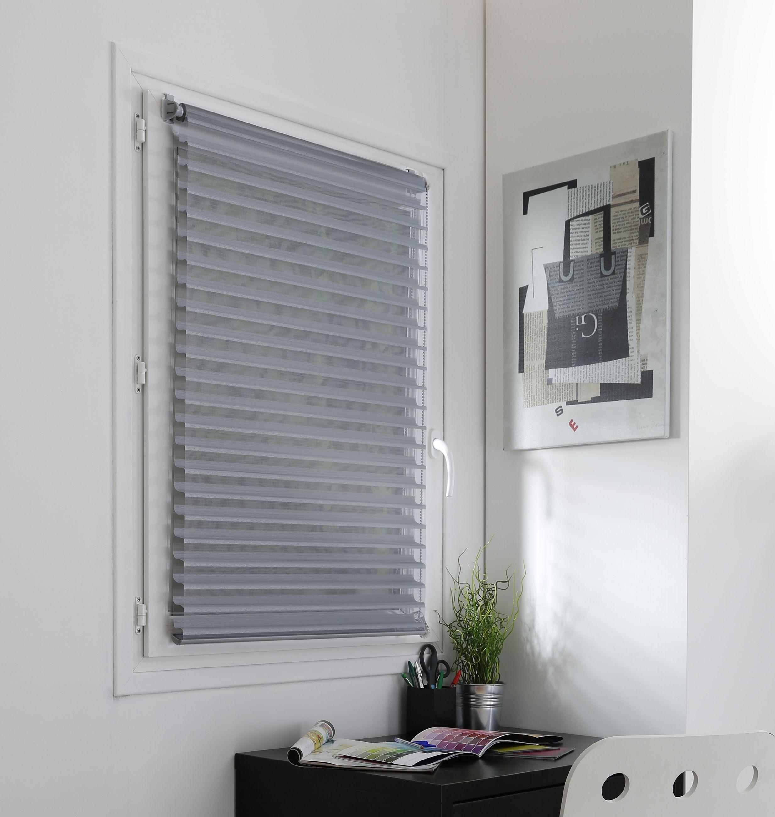 Duo store fenêtres à enrouleur sans perçage couleurs et dimensions à choisir