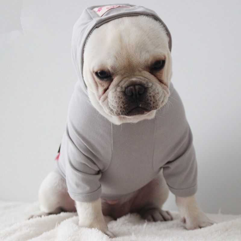 French Bulldog Dog Clothes Corgi Pug Dog Hoodie Coat Jacket Cat