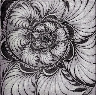 Sisters in Art: Zentangle