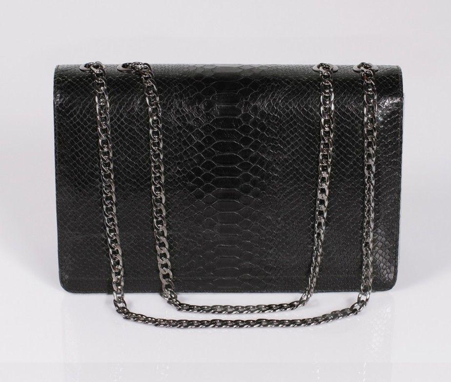 LINA BRAX Jumbo printed python black    BAGS   Pinterest   Bags ... 54920c95d6a