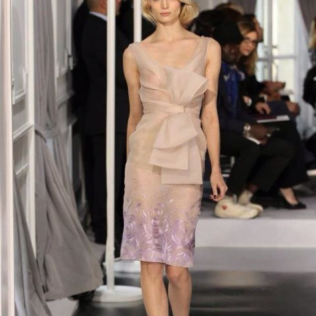 Loving Dior's couture spring summer 2012 looks