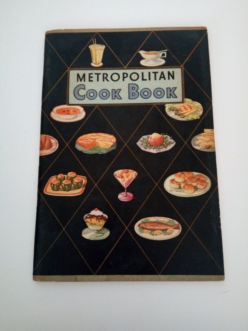 1930s Metropolitan Cook Book Metlife Insurance Company Life