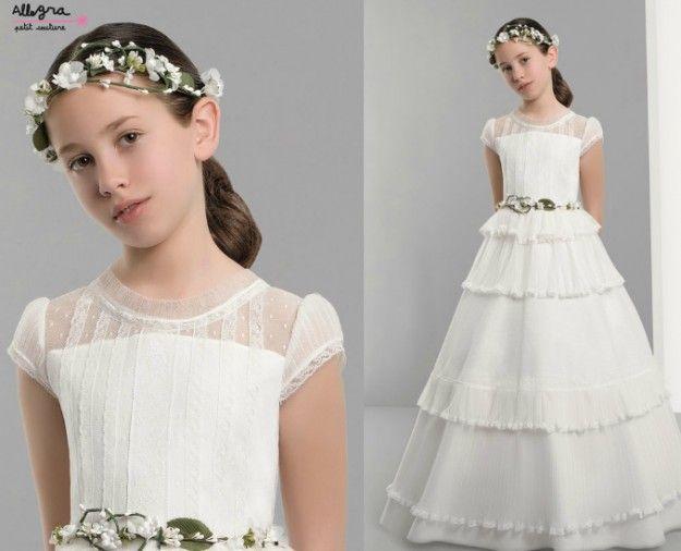 Vestidos Primera Comunión 2014: Fotos colección Allegra Petit Couture