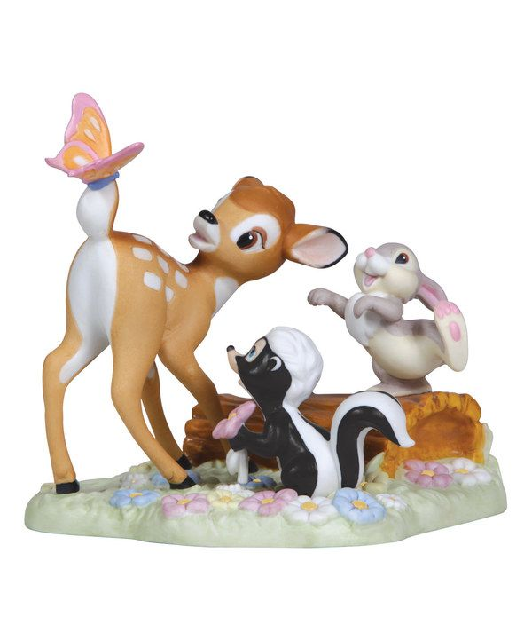 Look at this Bambi & Friends Figurine on #zulily today!