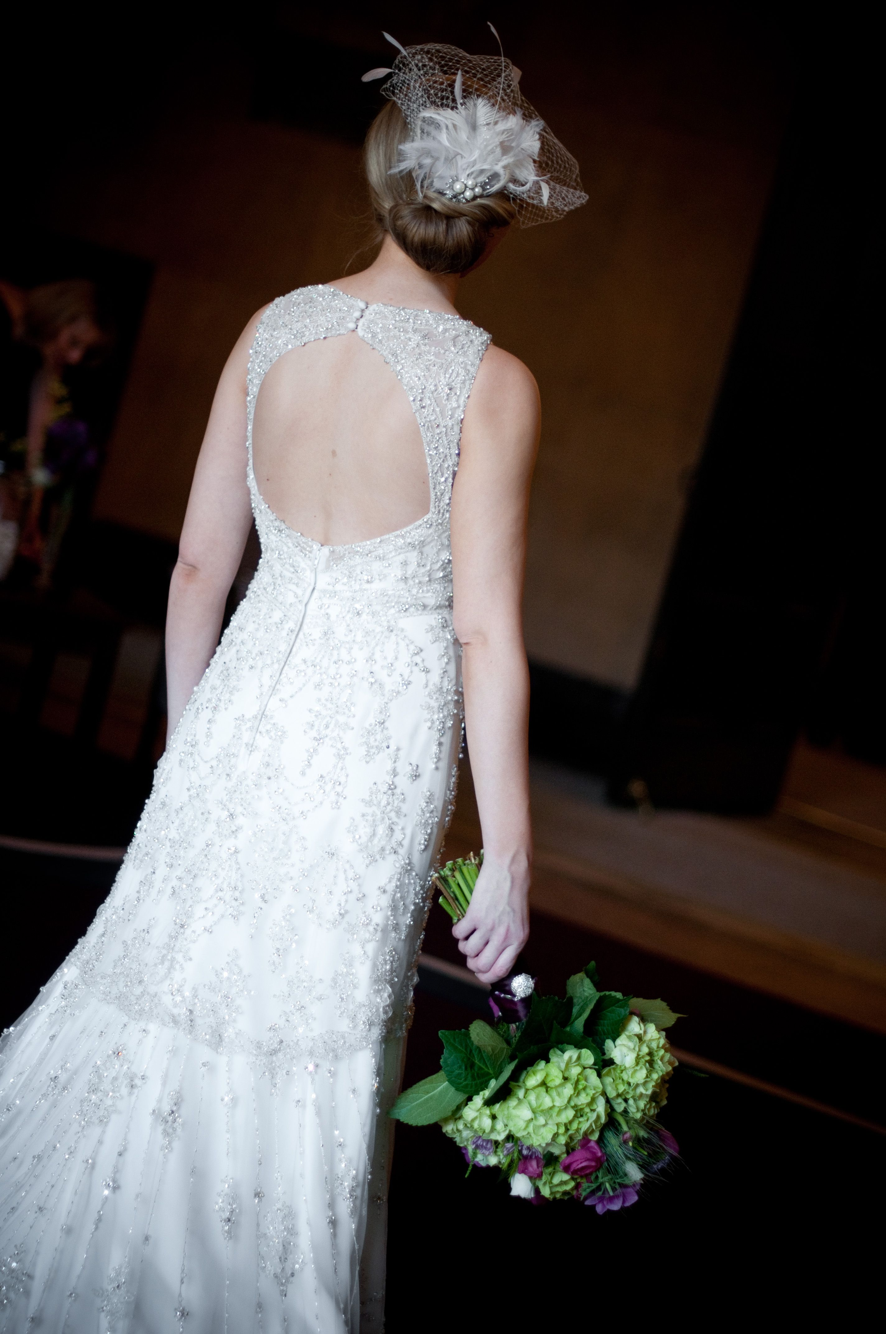 Beautiful dress especially the back photo by troy minnesota