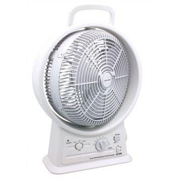 Gamasonic Gamasonic Rechargeable 12 Oscillating Fan Fan