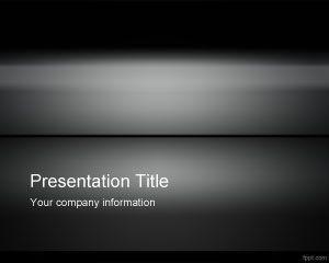 Free Dark Iron PowerPoint Template | Presentation Graphics ...
