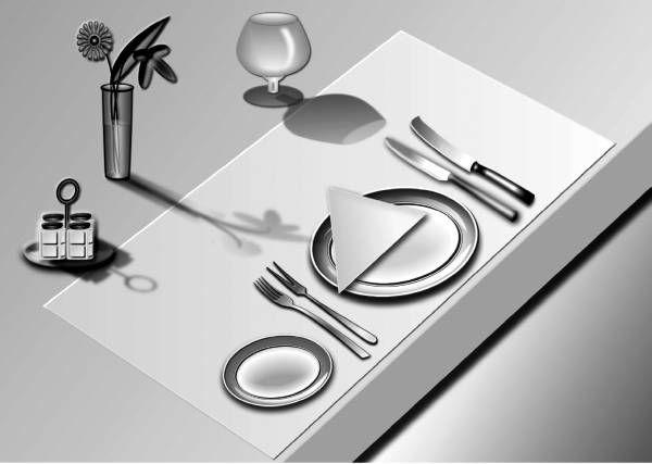 сервировка в ресторане - Google Search