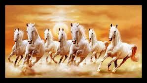 Image Result For 7 Horses Painting Param Jit Pamma Seven Horses