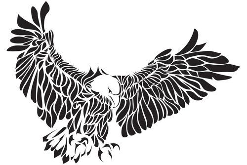Eagle Tattoo Tribal Eagle Tattoo Eagle Tattoo Eagle Tattoos